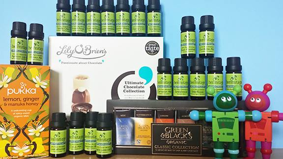 Italian essential oil collection