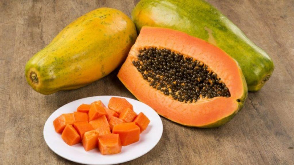papaya as natural cosmetics