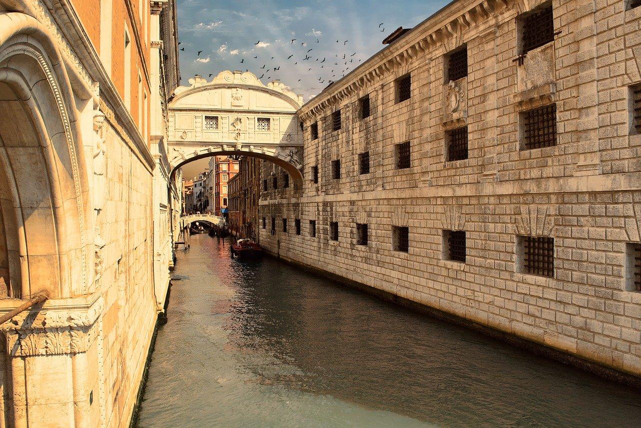 ponte sospiri venezia