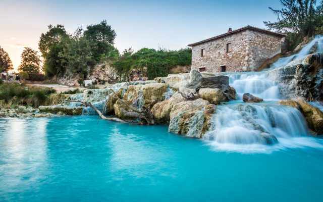saturnia thermal baths