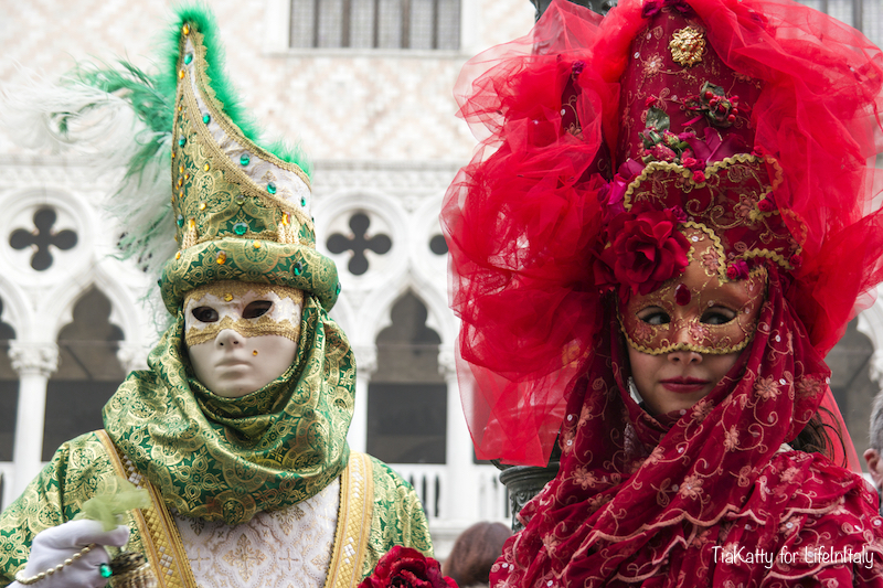 A Day in Venice during the Carnival