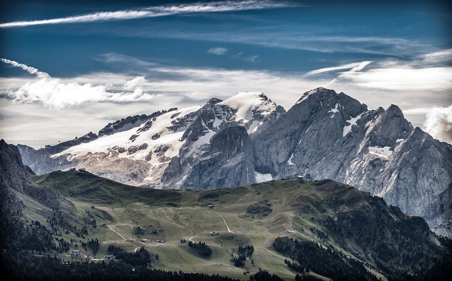 The Dolomites during the Summer.