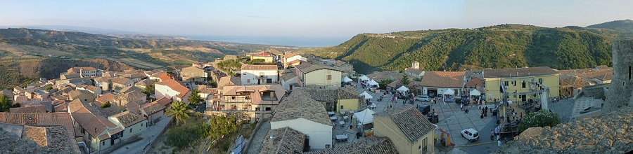 squillace panorama, calabria