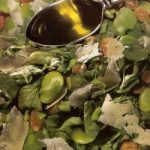 Venetian Watercress, Fava Bean, and Pecorino Salad