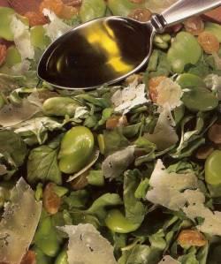 Venetian Watercress, Fava Bean, and Pecorino Salad