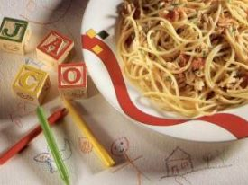 Spaghetti With Tuna for children