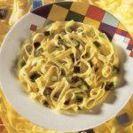 Venetian Fettuccine with Stewed Zucchini