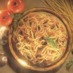Venetian Spaghetti With Oven-Dried Tomatoes