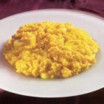 Venetian Risotto With Sea Scallops And Saffron