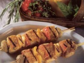Venetian Brochette of Swordfish