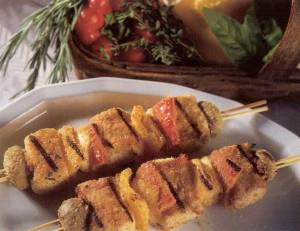 swordfish brochette
