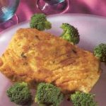 halibut with broccoli