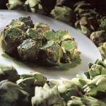 Venetian Artichokes In Herb Sauce recipe