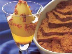 Venetian Cornmeal Brioche Bread Pudding