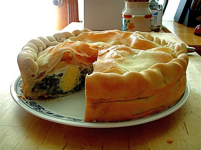 Easter traditional food: torta pasqualina