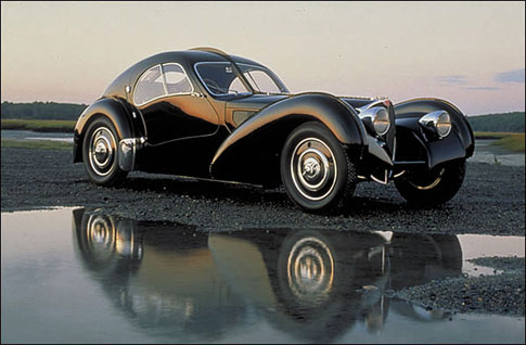 The Bugatti Atlantic, one of the most stunning cars ever made