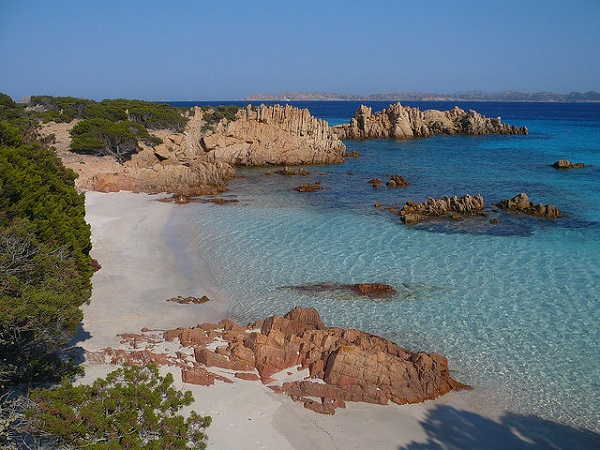 Spiaggia Rosa (Pink Beach) in the Archipelago La Maddalena