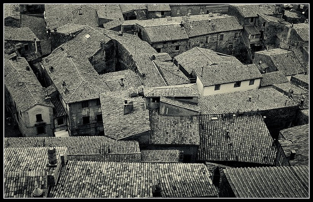 Roofs in Bolsena
