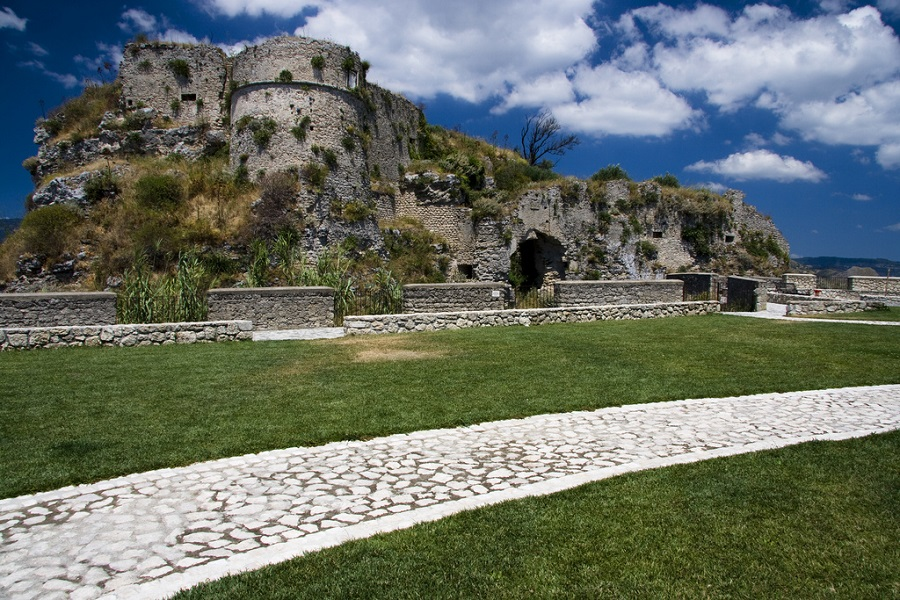 The Norman Castle in Gerace