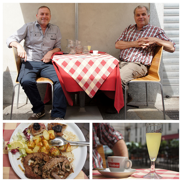 Food in Italy is pleasure and to be enjoyed in good company. This is the main eating rule in the country.
