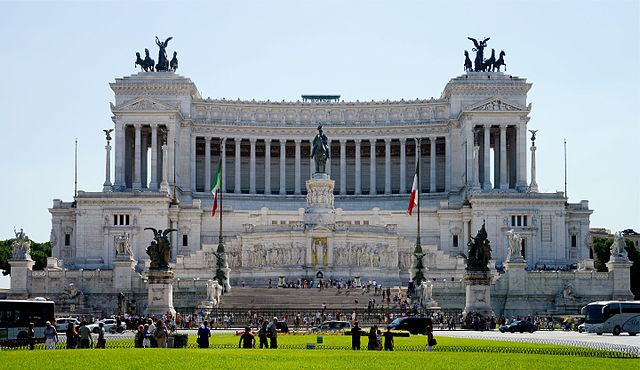History of 'Monument to Vittorio Emanuele'