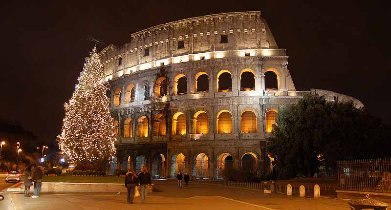 coliseum in rome, one of the most visited italian attractions