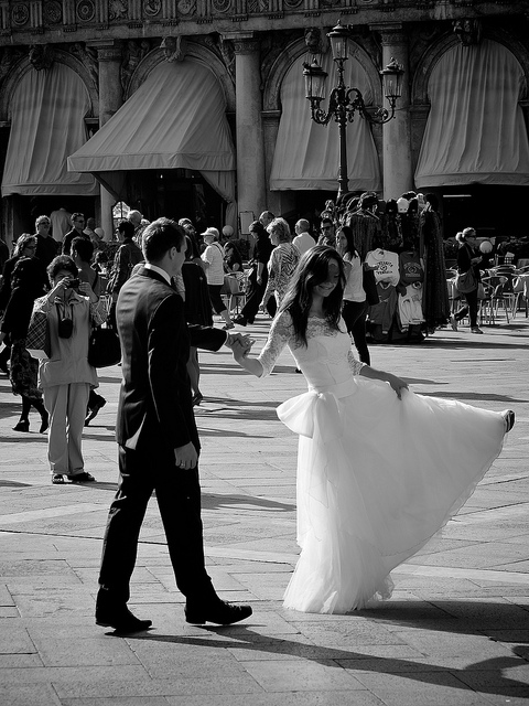 wedding destinations in italy: venice