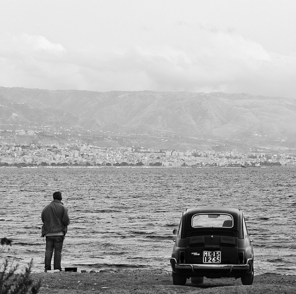 Fishing in Messina, Sicily