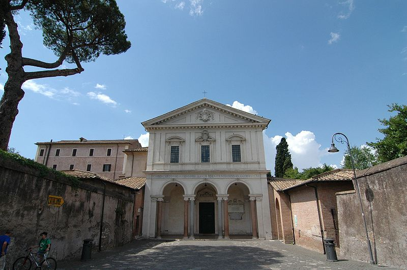 Via Francigena: Church Saint Sebastian Outside the Walls , Rome