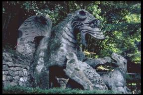 Bomarzo Dragon