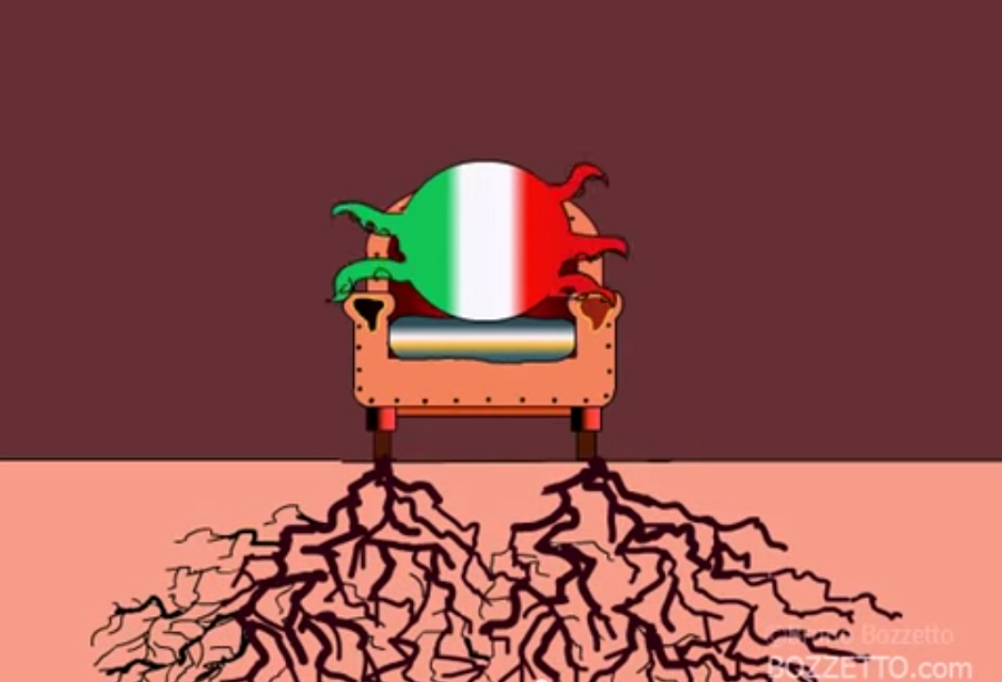 Italians & Europeans Video by Bruno Bozzetto
