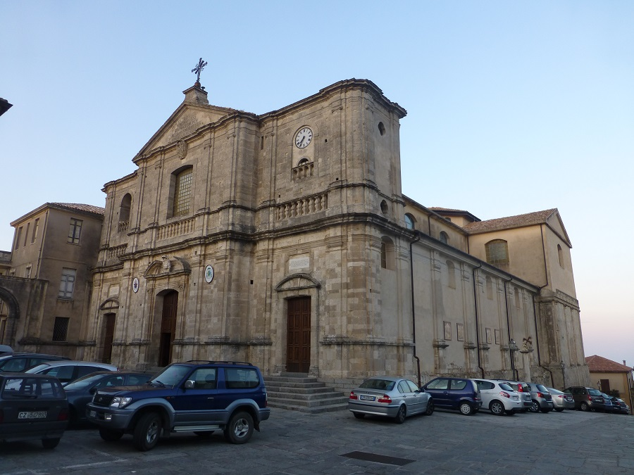 cathedral in squillace, calabria