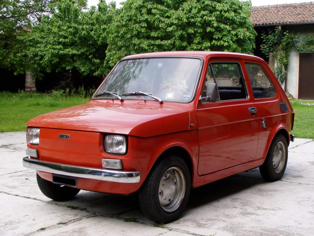 Fiat 126 – Photo courtesy of Camilla_Giribardi/Wikimedia