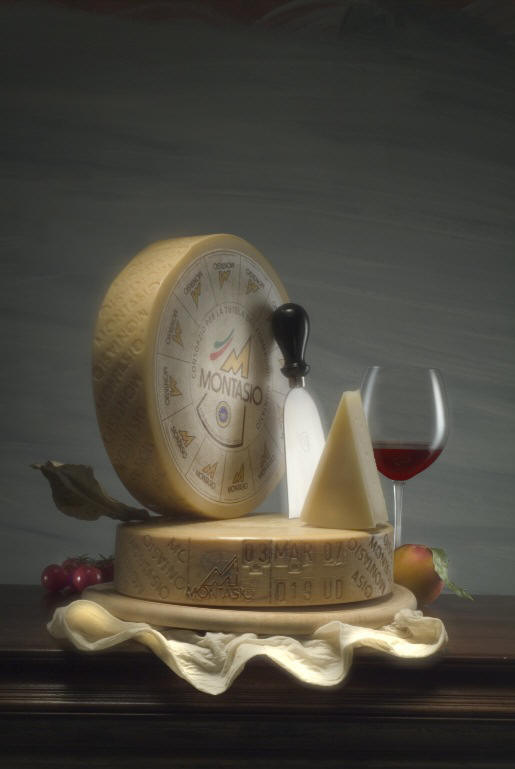 Montasio Cheese of Friuli