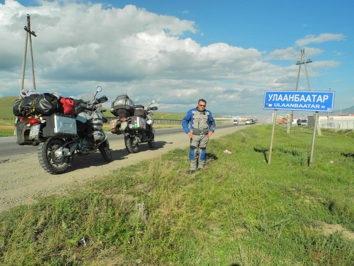 Italy to Mongolia on a motorcycle