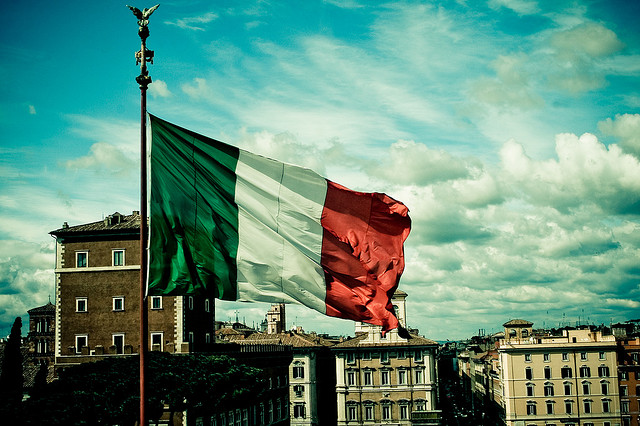 History of the Italian Flag
