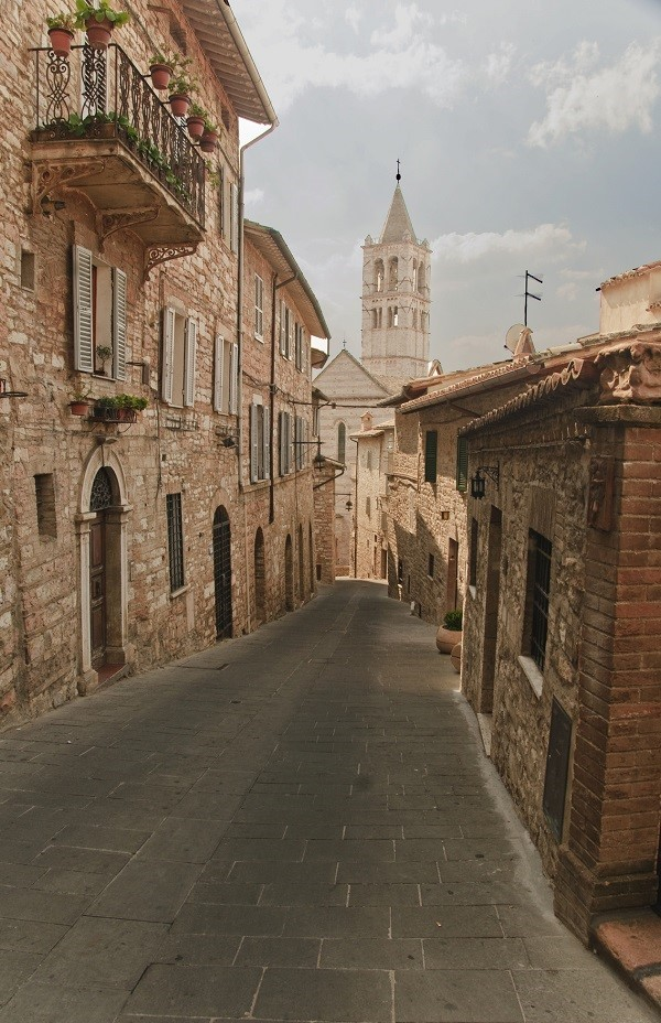 Street of Assisi