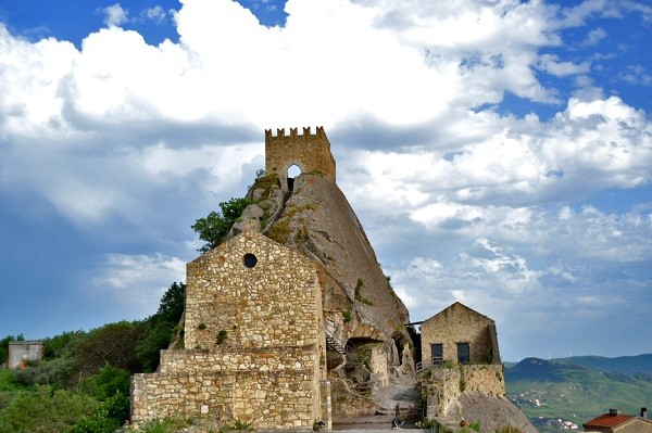 Sperlinga Castle, Enna, Sicily