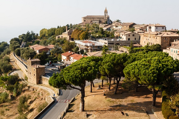 Montalcino, town of the Brunello