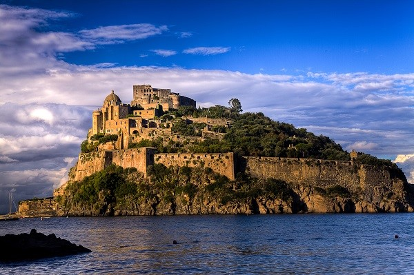 Italian Islands: The Aragonese Castle on Ischia Island