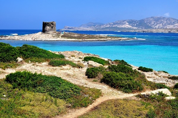 Old watch tower in Sardinia