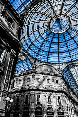 Galleria Vittorio Emanuele, the oldest indoor shopping mall in the World.