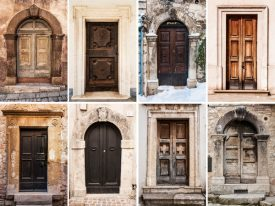 Italian Decor: Italian Doors