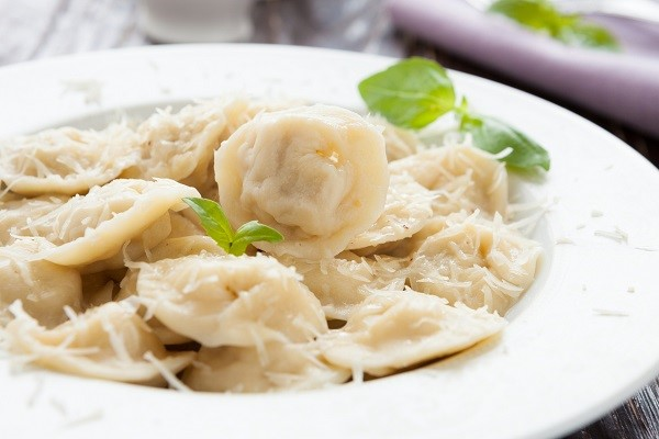 Stuffed pasta like ravioli is better with a simple sauce that doesn't cover the taste of the filling