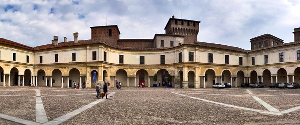 Courtyard of the Ducal Palace in Mantua