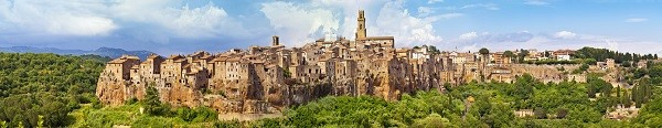 Pitigliano, the Little Jerusalem, Tuscany