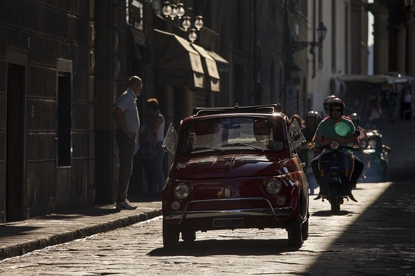 Get a car and discover Italy with the beautiful light and colors of September
