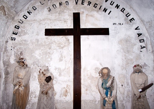 The Catacombs of the Capuchins are burial catacombs in Palermo