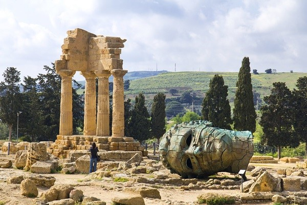 Italian Islands: the Valle Dei Templi in Agrigento, Sicily, is a World Heritage Site