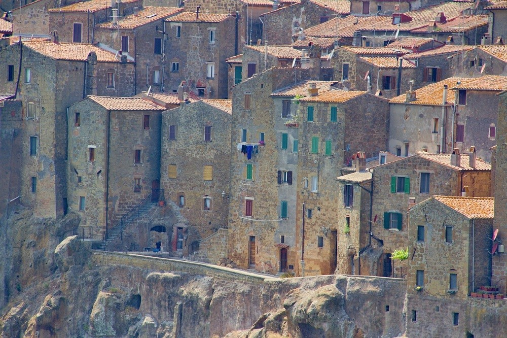 The Etruscan Town of Pitigliano